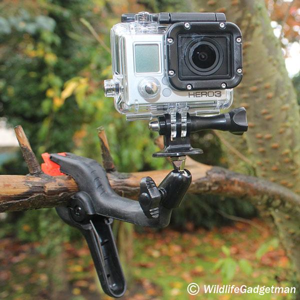 Make A Low Cost Wildlife Camera Clamp - WildlifeGadgetman.com