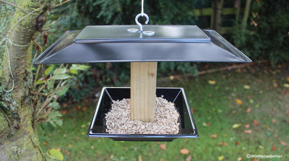 Make a hanging bird table for How to build a bird feeder easy