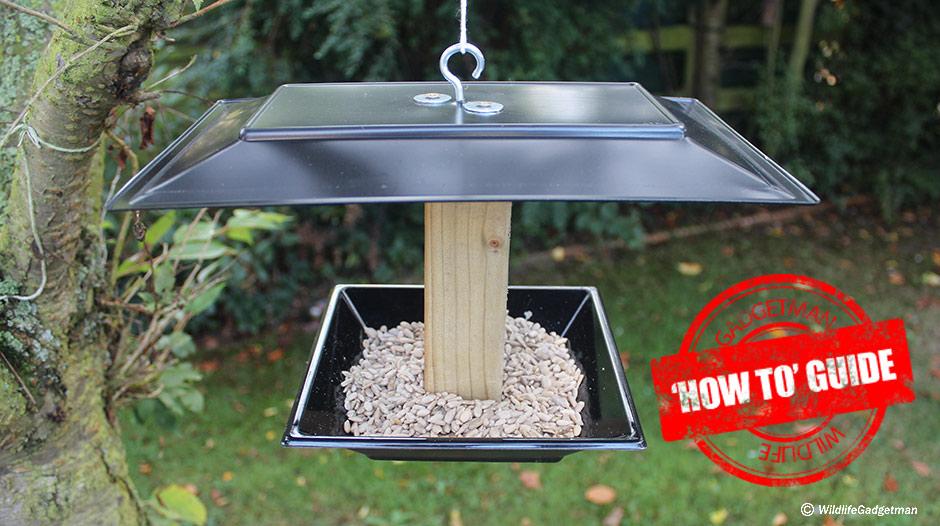 using a bird table 1