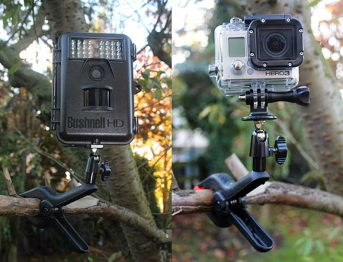 Make A Low Cost Wildlife Camera Clamp