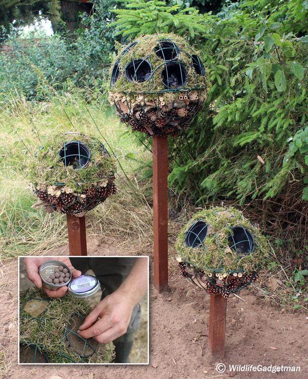 make a bird fat feeder using an empty seedball tin. Black Bedroom Furniture Sets. Home Design Ideas
