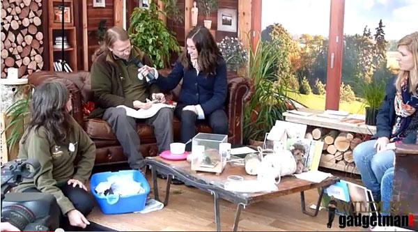Willows Hedgehog Rescue Springwatch Live Interview
