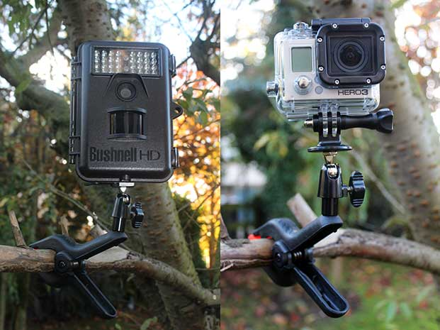 Make a low cost wildlife camera clamp - Low cost camera ...