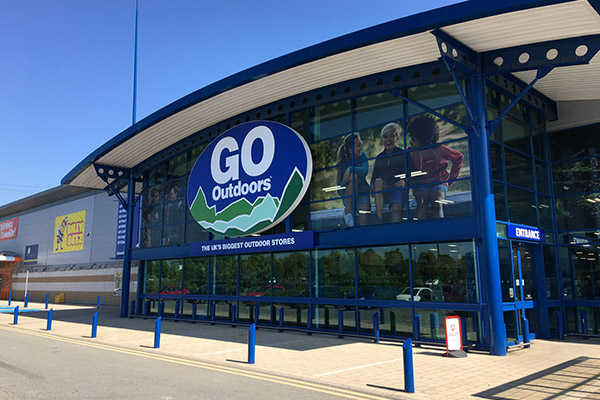 Go Outdoors opens a new store in Ipswich